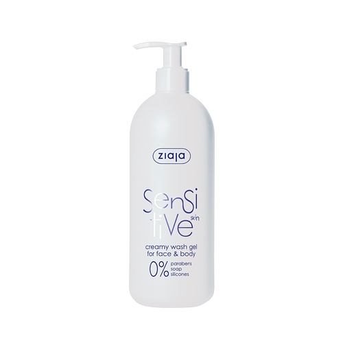 Das sensitive Waschgel ohne Parabene für empfindliche Haut von Ziaja