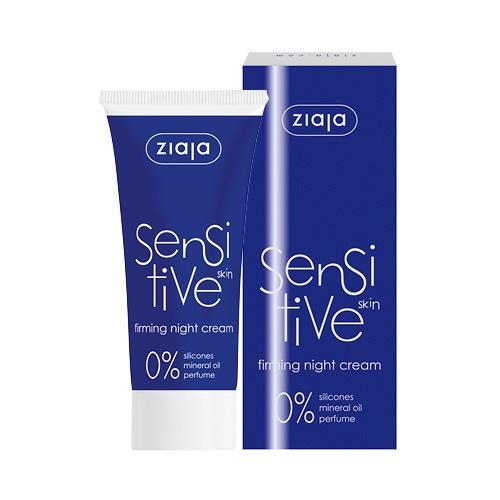Die sensitive Nachtcreme für sensible Haut ohne Parabene von Ziaja