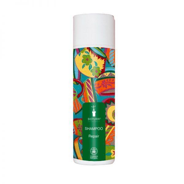 Das Repair-Shampoo für trockenes, strapaziertes und strohiges Haar von Bioturm
