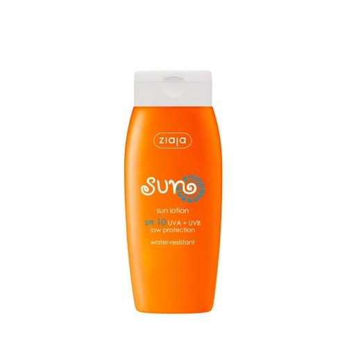 Die wasserfeste Sonnenlotion mit LSF 10 bietet optimalen Sonnenschutz und ist besonders für trockene Haut geeignet