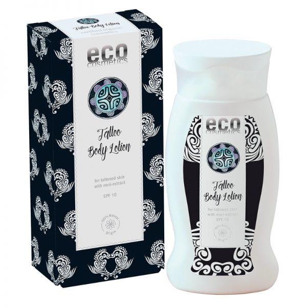 Die Tattoo-Körperlotion von eco cosmetics