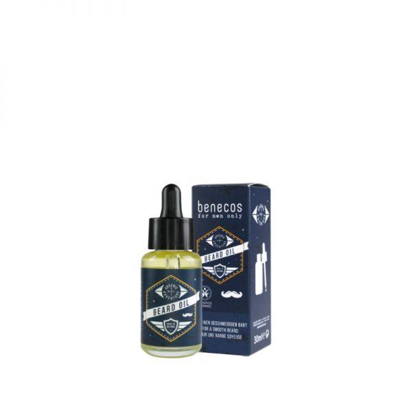 Veganes Bartöl - Cosmos Organic - zertifiziert von Benecos