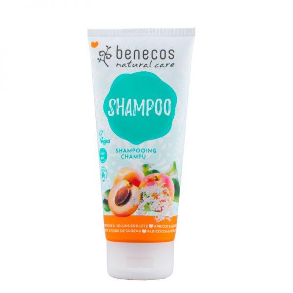 Natürliches Shampoo mit Aprikosenduft von Benecos