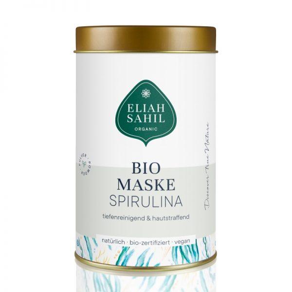 Tiefenreinigende und Hautstraffende Pulver-Maske mit Spirulina von Eliah Schiel