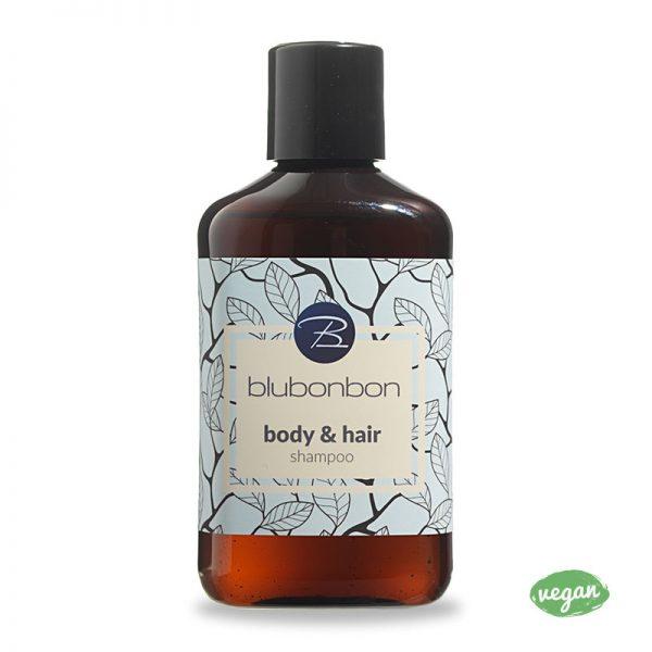 Body and Hair Shampoo von Blubonbon ist ein absoluter Allrounder im Badezimmer.
