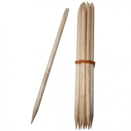 10 Stück Nagelhautstäbchen aus Holz von Avril