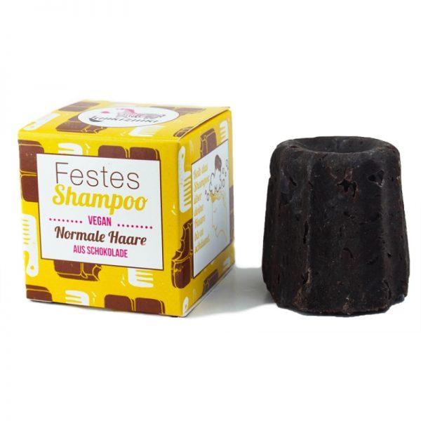 Das feste Shampoo mit Schokoladenduft von Lamazuna