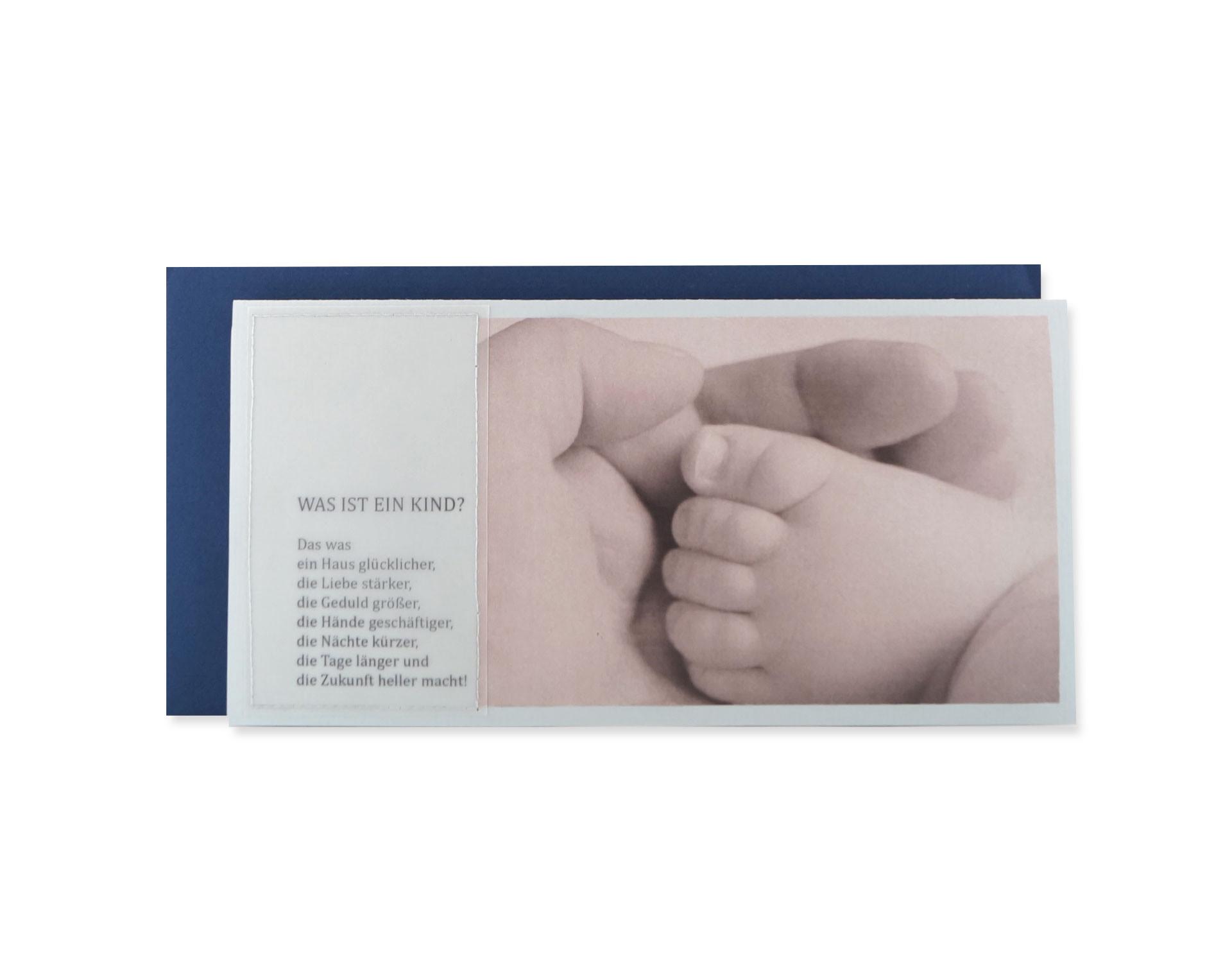 Karte Zur Geburt Was Ist Ein Kind