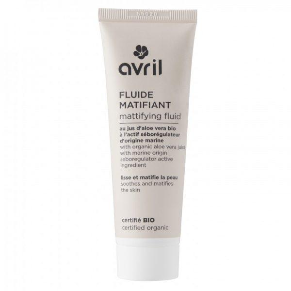 Das mattierende Fluid für ölige Haut und Mischhaut von Avril