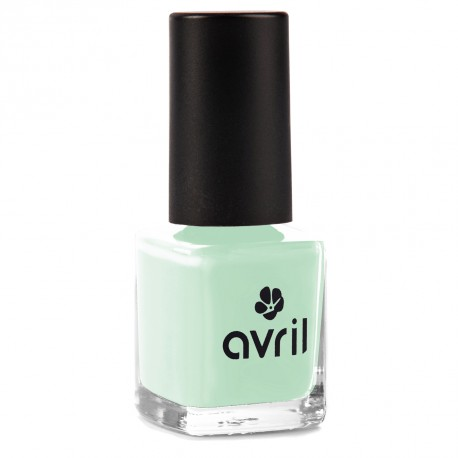 langanhaltender, veganer Nagellack von Avril in frischem Mint