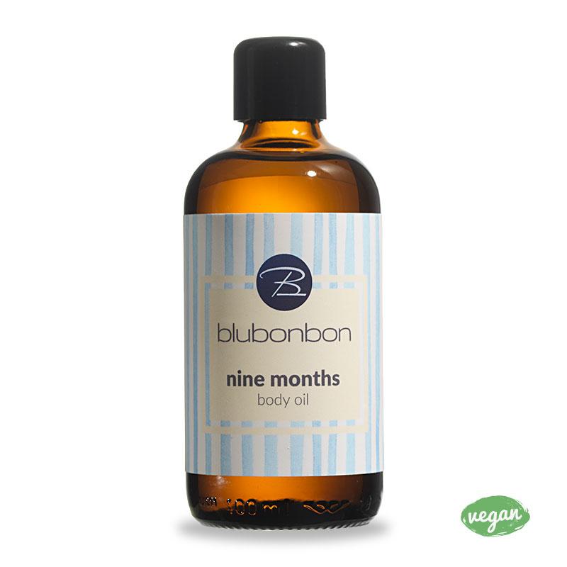 Nine Months Body Oil von Blubonbon gegen Schwangerschaftsstreifen