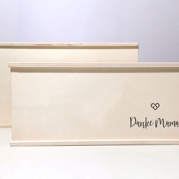 """Holzbox """"Danke Mama"""""""