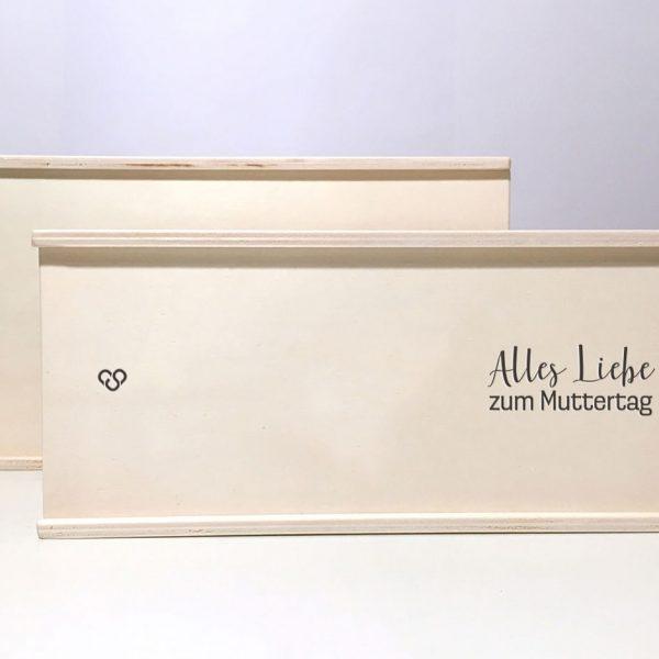"""Holzbox """"alles Liebe zum Muttertag"""""""