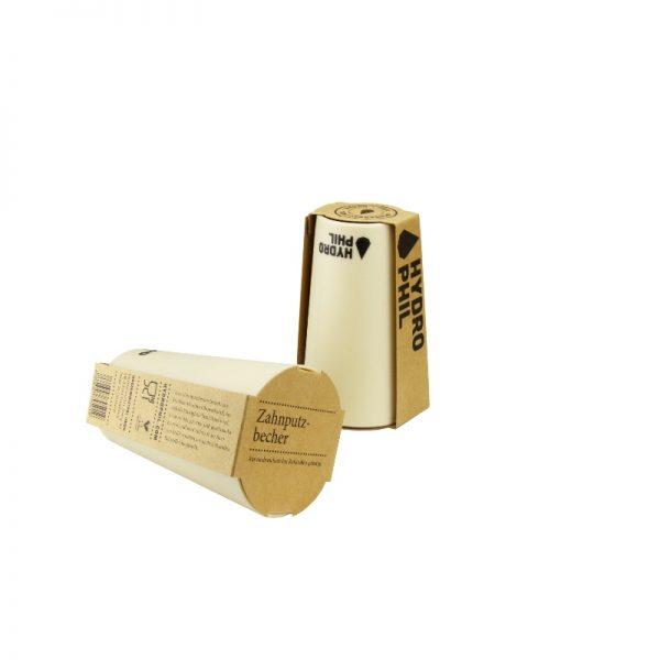 Erdöl- und plastikfreier Zahnputzbecher von Hydrophil