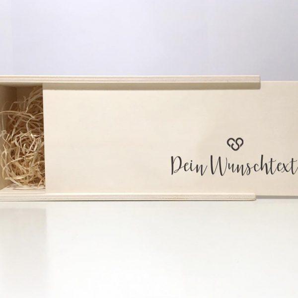 Personalisierbare Holzbox mit deinem Wunschmotiv oder Wunschtext –handgemacht aus dem Bregenzerwald