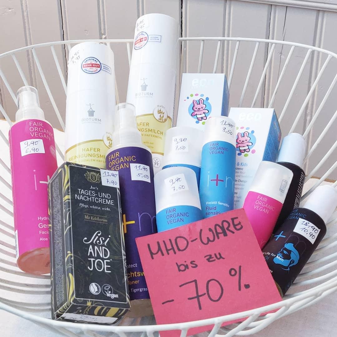 Angebote und MHD-Schnäppchen bei cosa Kosmetik ohne Tierversuche