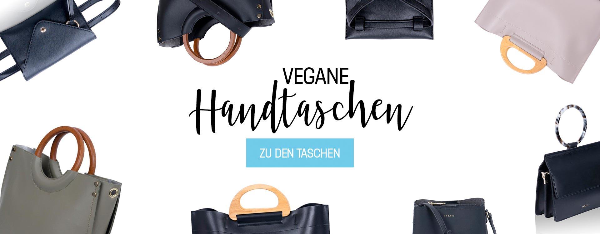 Vegane Handtaschen von Inyati bei cosa Kosmetik | Peta Vegan Zertifiziert