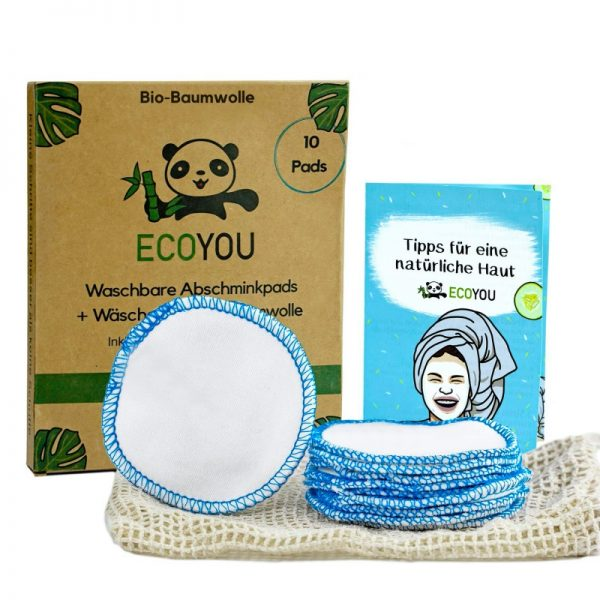 Abschminkpads als perfekter Ersatz für Wattepads von EcoYou