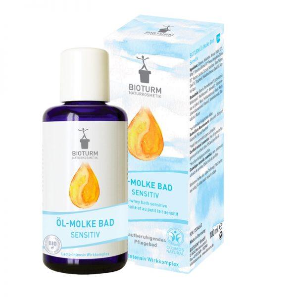 Beruhigendes Öl-Molke-Bad für sensible Haut von Bioturm
