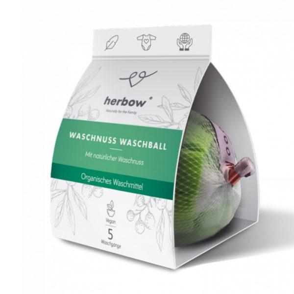 Waschnuss-Waschball für bis zu 5 Wäschen von herbow