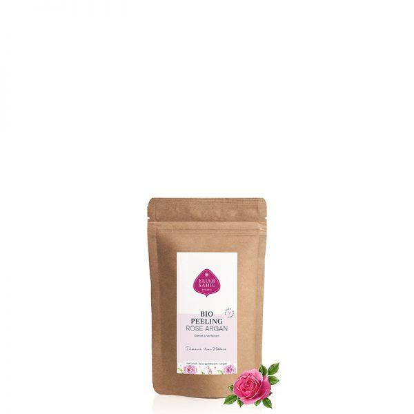 Probiergröße Bio-Pulver-Peeling Rose |Biokosmetik von Eliah Sahil bei cosa Kosmetik