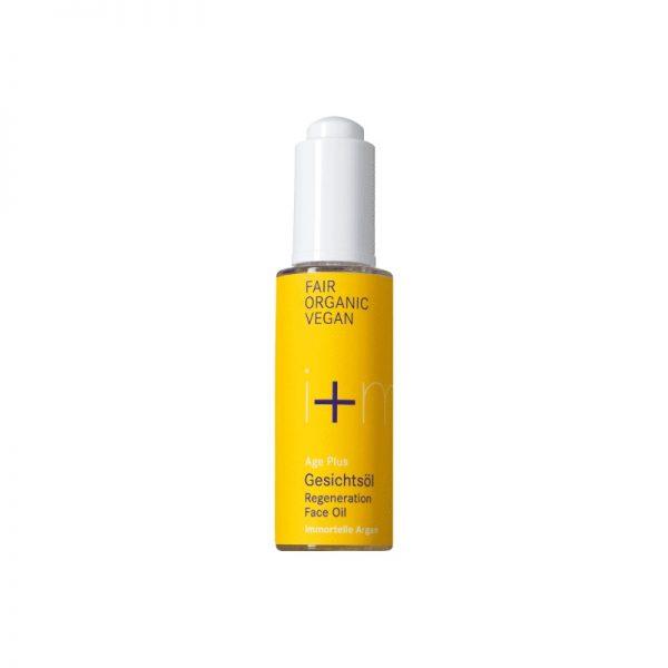 Das Age Plus Gesichtsöl für trockene und reife Haut von i+m