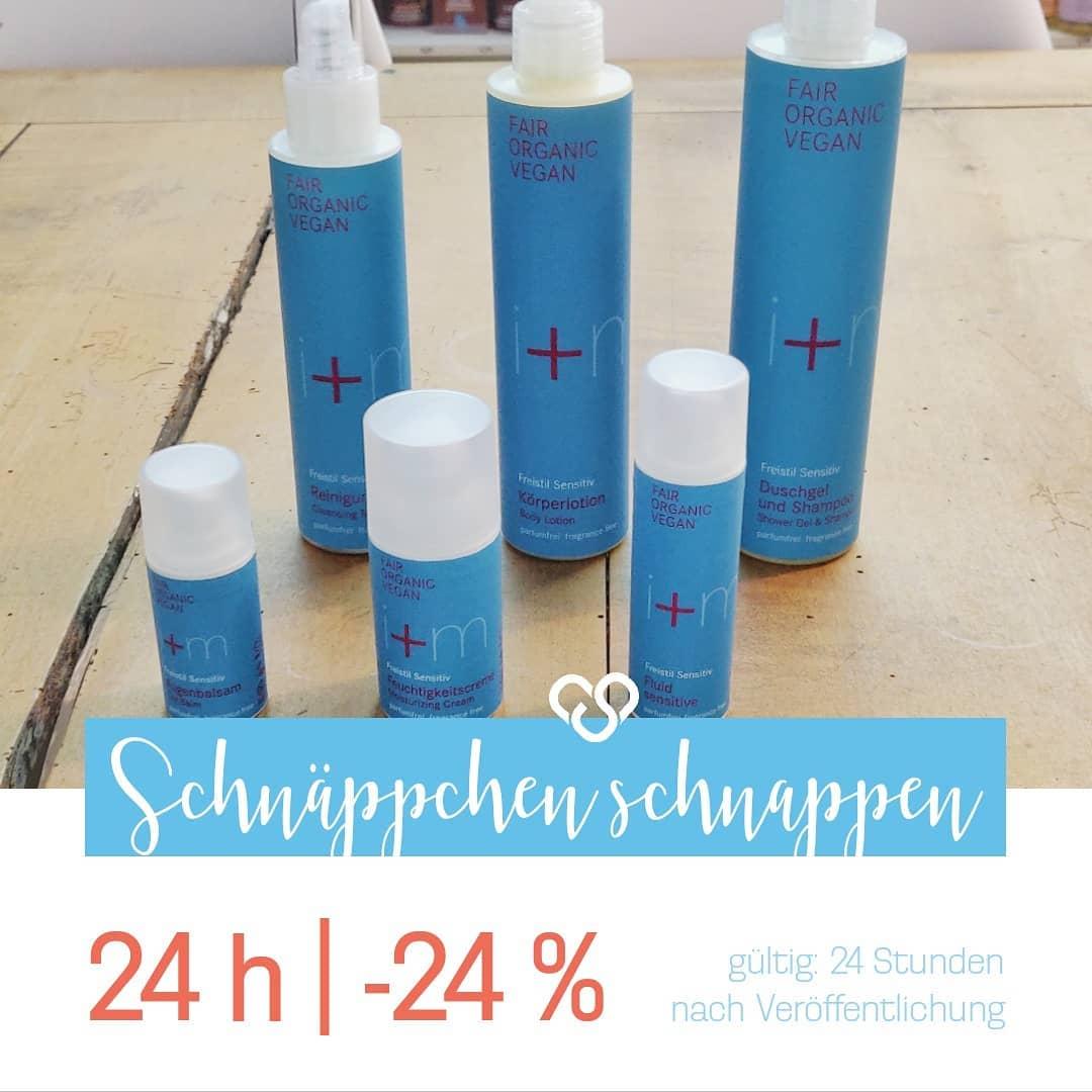 Die Freistil Serie von I+M gibt es nun um ganze 24% günstiger bei cosa Kosmetik ohne Tierversuche