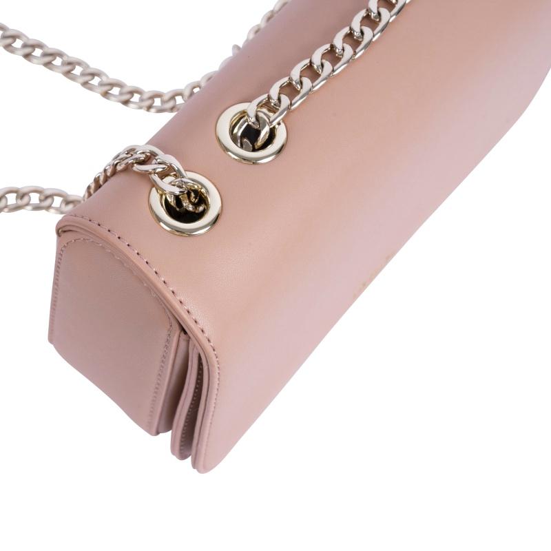 Detailansicht der veganen Handtasche in Just Peachy von Inyati