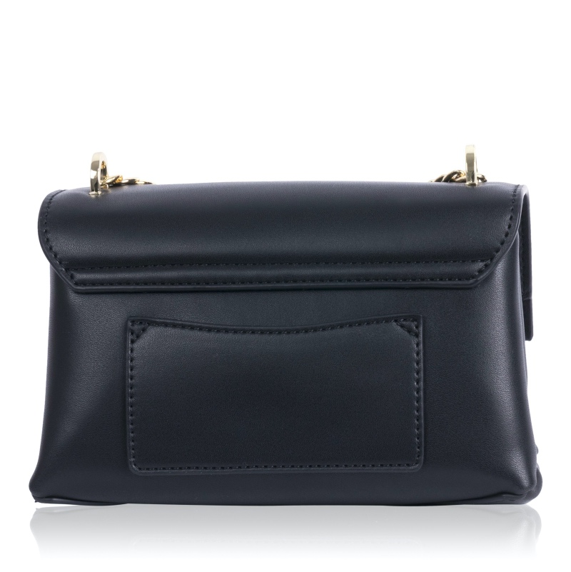 Rückansicht der Mini-Handtasche aus veganem Leder von Inyati