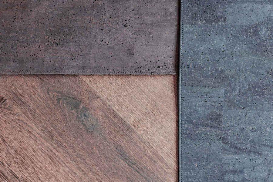 Kork-Schreibtischunterlagen in Braun und Schwarz von CLARISSAKORK