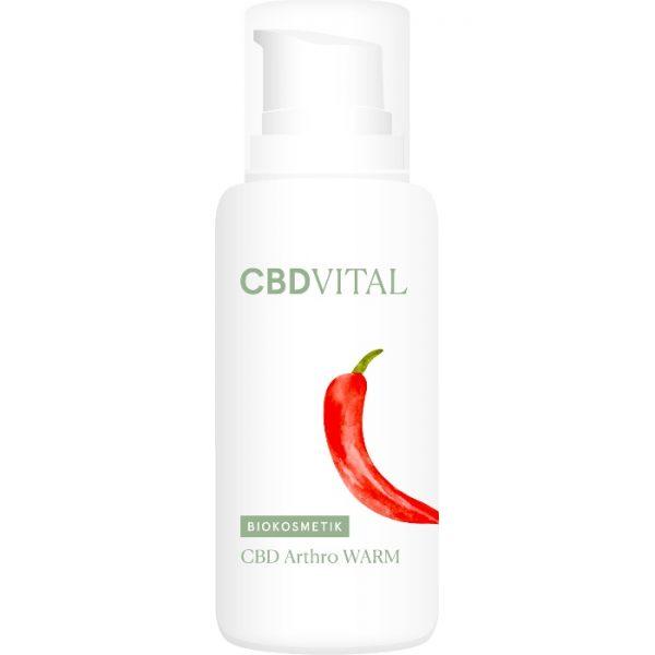 Wärmendes und durchblutungsförderndes Regenerationsgel mit einem hohem CBD-Gehalt von CBD Vital im cosa Kosmetik Onlineshop