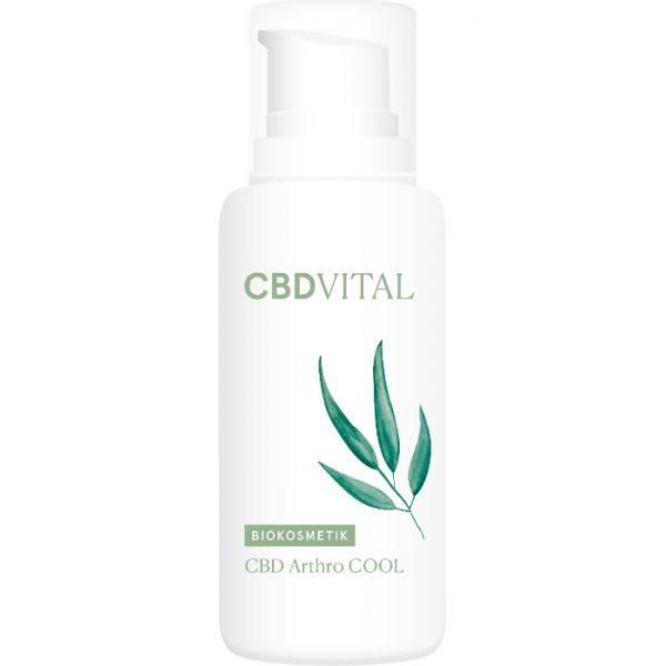 Der kühlende Gelenks- und Muskelbalsam mit CBD von CBD Vital hilft bei Überlastung und Überbeanspruchung erhältlich im cosa Kosmetik Onlineshop