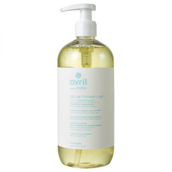 Das Baby-Reinigungsgel für Gesicht, Körper und Haare von Avril im cosa Kosmetik Onlineshop