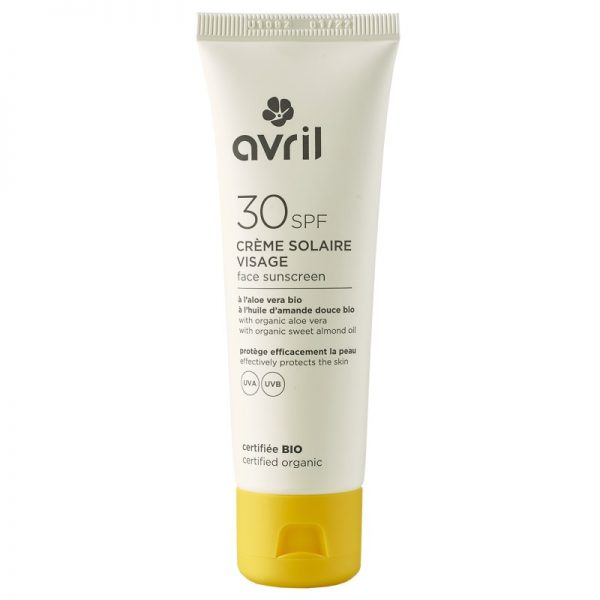 Die Sonnencreme mit Lichtschutzfaktor 30 fürs Gesicht von Avril im cosa Kosmetik Onlineshop