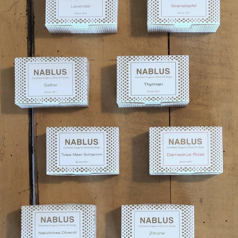Natürliche Seife in verschiedenen Duftrichtungen von Nablus bei cosa Kosmetik ohne Tierversuche