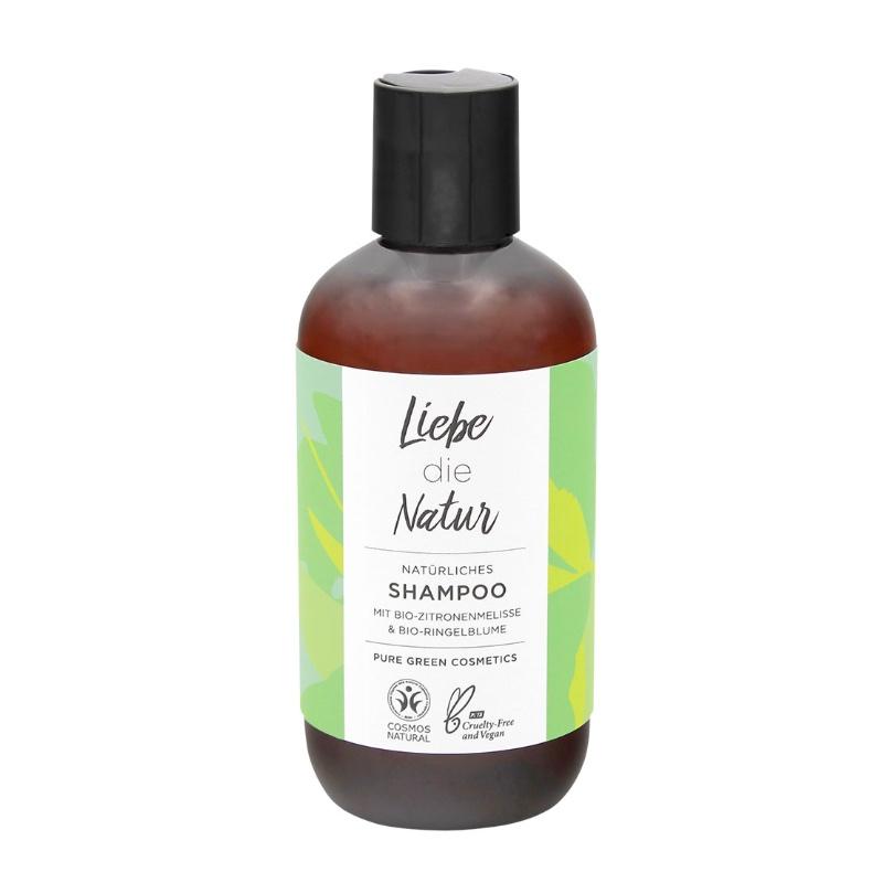 Das Shampoo mit Zitronenmelisse verleiht deinem Haar Frische und Glanz