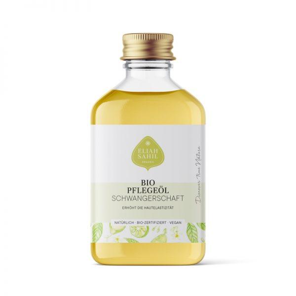 Das bio-Schwangerschafts-Pflegeöl mit Bergamotte von Eliah Sahil