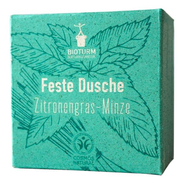 Festes Duschstück mit Zitronengras und Limette von Bioturm im cosa Kosmetik Onlineshop