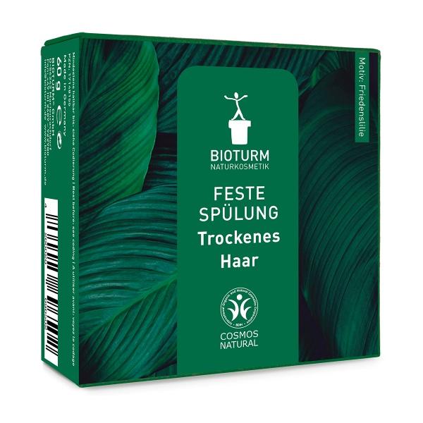 Feste Haarspülung für trockenes, strapaziertes und sprödes Haar von Bioturm im cosa Kosmetik Onlineshop