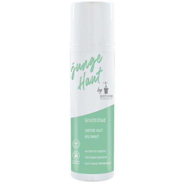 Feuchtigkeitsspendendes Gesichtsfluid für unreine Haut von Bioturm im cosa Kosmetik Onlineshop