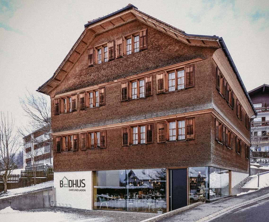 cosa Kosmetik im Café Badhus in Lingenau