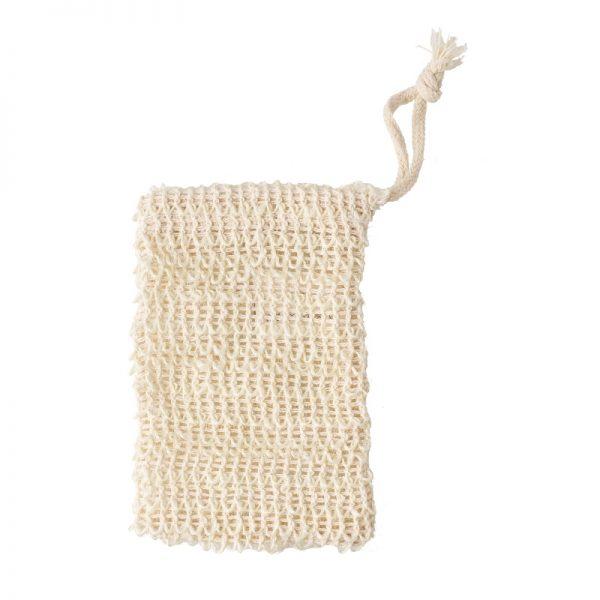 Plastikfreies Sisal-Seifensäckchen von Avril im cosa Kosmetik Onlineshop