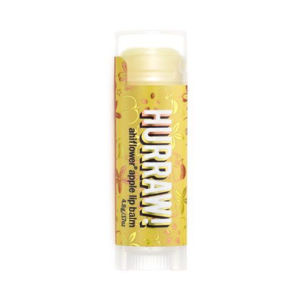 Veganer Lippenbalsam mit Ahriflower und Apfel-Geschmack von Hurraw! im cosa Kosmetik Onlineshop