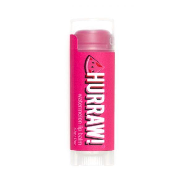 Lippenbalsam mit Wassermelonen-Geschmack von Hurraw! im cosa Kosmetik Onlineshop